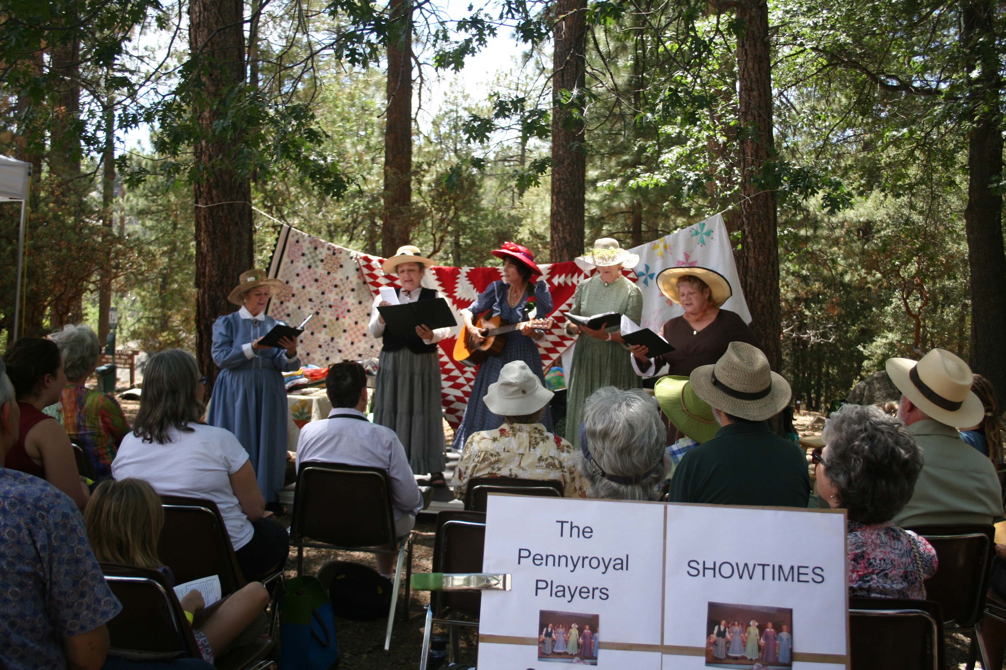 Musical performers-Idyllwild event
