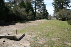 Horseshoe game pits at McCall