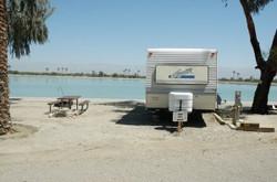 RV camping at Cahuilla