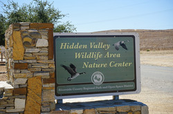 Welcome Sign at Hidden Valley