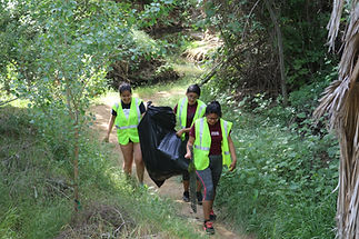 Louis Robidoux Trail Clean Up Earth Day