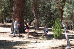Family hike at Idyllwild