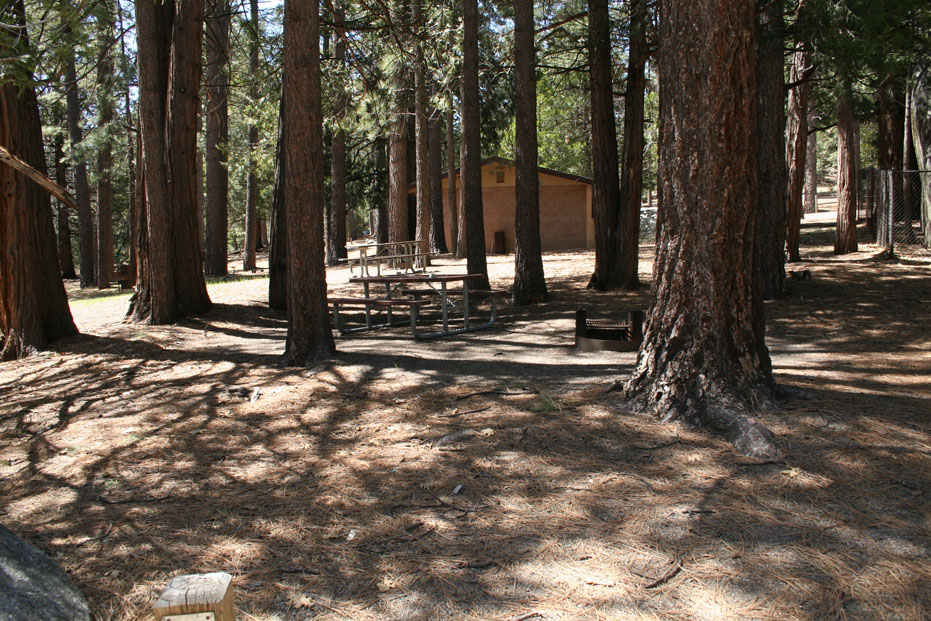 Picnic spots at Idyllwild