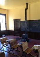 Interior de la escuela histórica