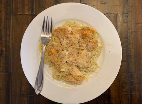 Garlic-Parmesan Halibut