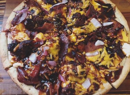 BBQ Wild Turkey Pizza