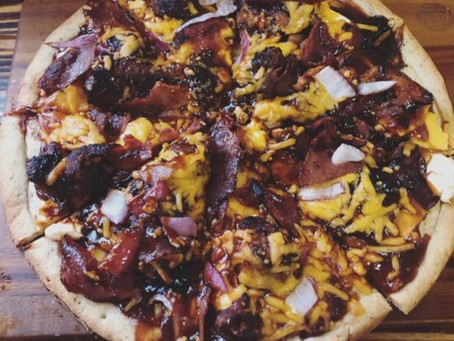 BBQ Wild Turkey Pizza