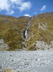 View of waterfall