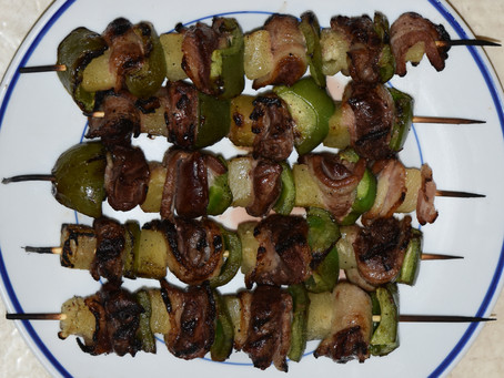 Duck on the Grill - Teal Kabobs Recipe