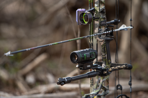 SiOnyx Aurora Infrared Color Night Vision Camera Installed on Bow