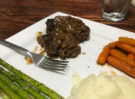Recipe: Venison Salisbury Steak