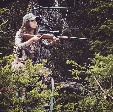 Huntress View Photo SkyRest Tree Stand Shooting Rest