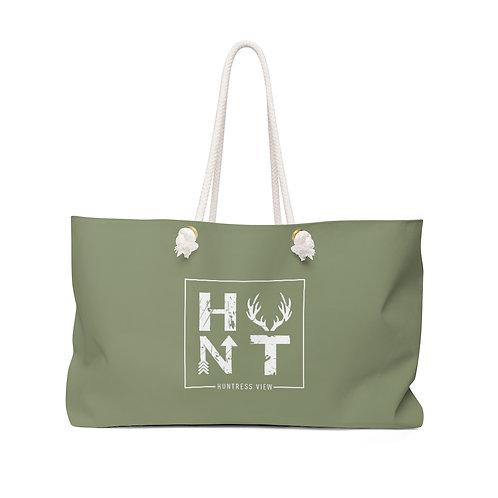 Sage Green Weekender Bag: HUNT