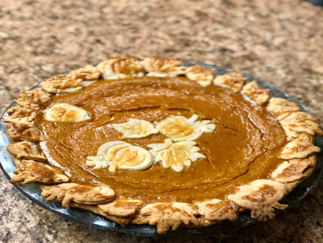 Recipe: Homemade Pumpkin Pie