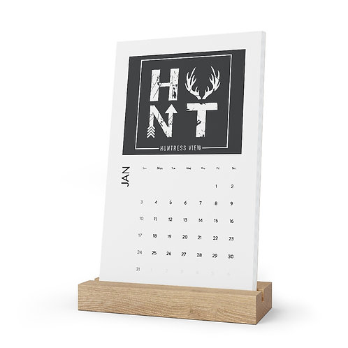 HUNT Vertical Desk Calendar