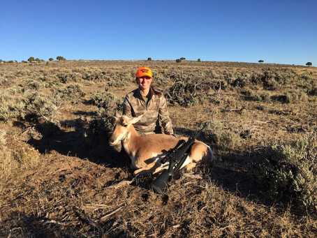 My First Antelope Hunt: A Mistake Made is a Lesson Learned