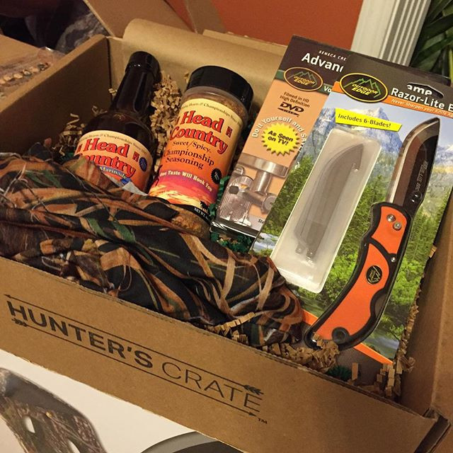 HuntVault December 2015 box