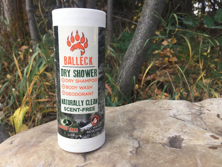 Product Review: Balleck Dry Shower