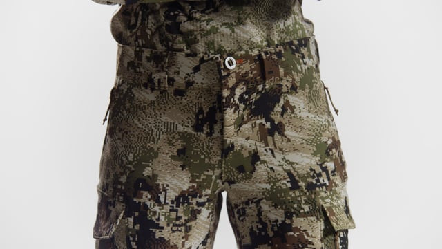 Sitka Timberline pants waist close up