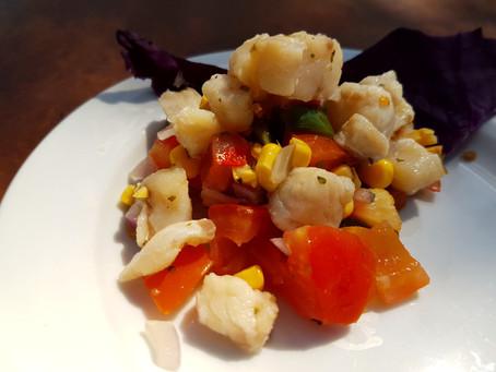 Recipe: Fresh Caught Ceviche with Corn Salsa