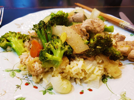 Wild Turkey Stir Fry