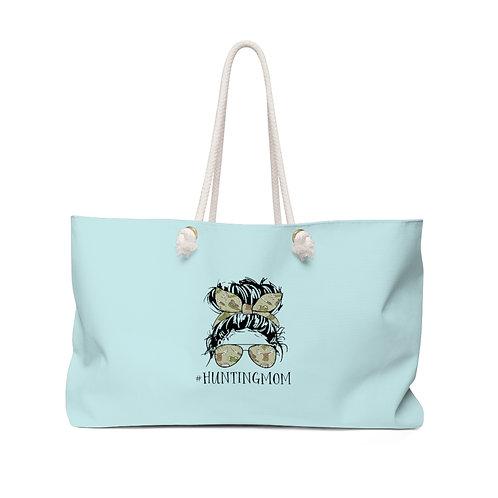 Light Blue #HuntingMom Weekender Bag