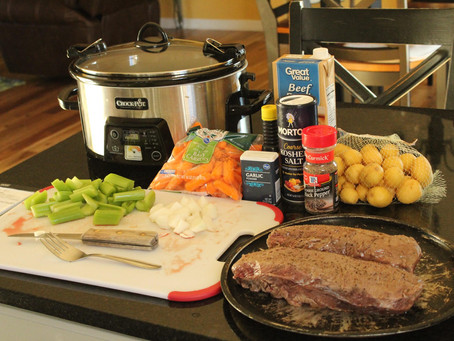 Crock Pot Venison Roast with Veggies Recipe