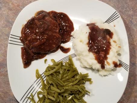 Venison Salisbury Steak