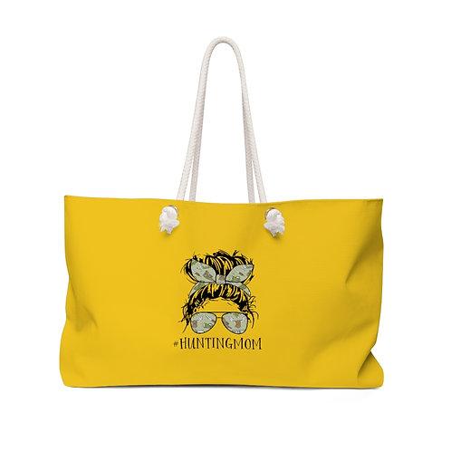 Yellow #HuntingMom Weekender Bag