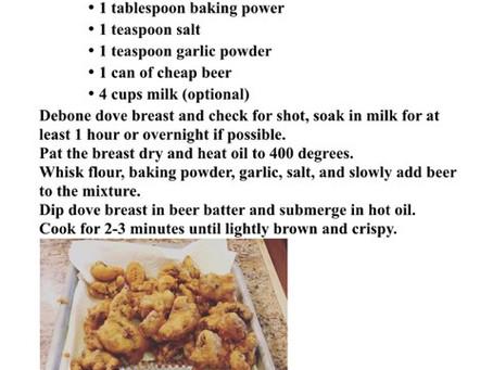 Dove Nuggets Recipe