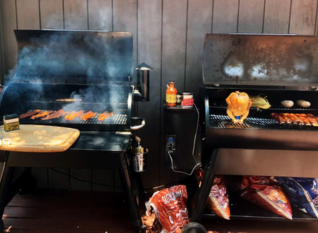 Traeger Grill Smoked Wild Duck