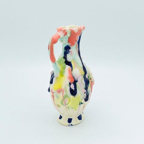 two flower vase