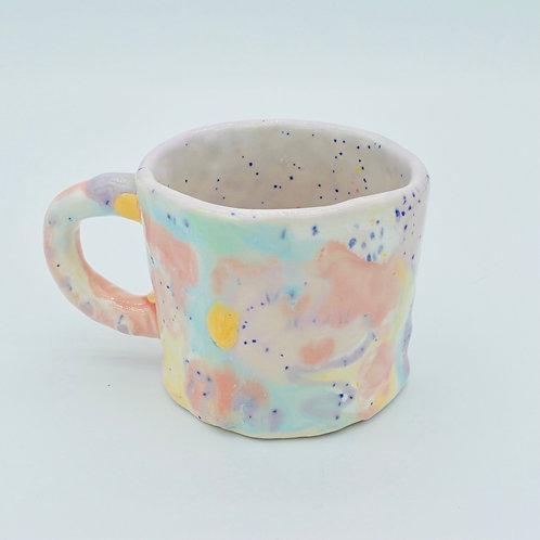 purple sunshine mug