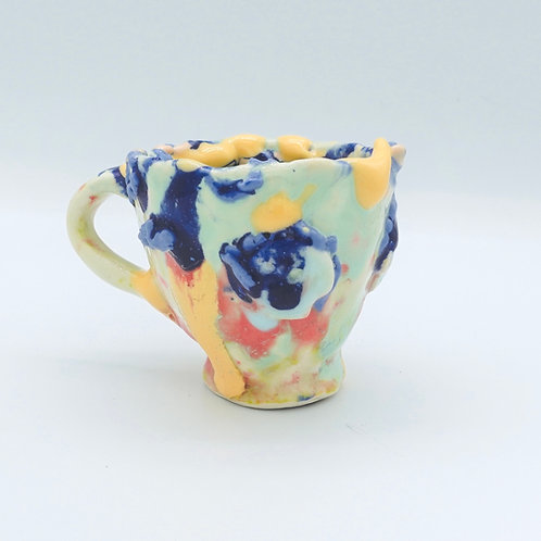 koi pond sculpture cup