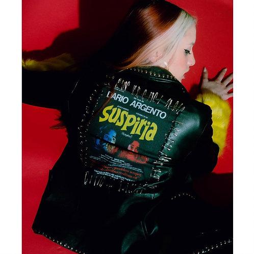 'suspiria' leather blazer