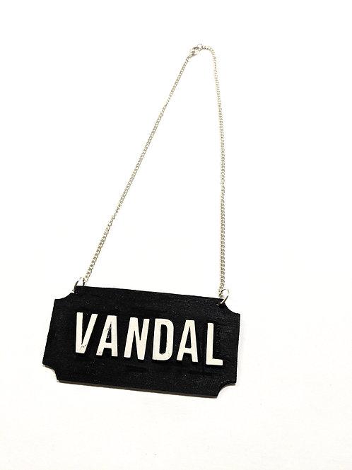 'vandal' necklace