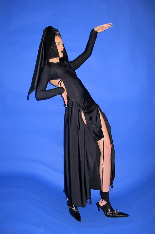 the big black dress