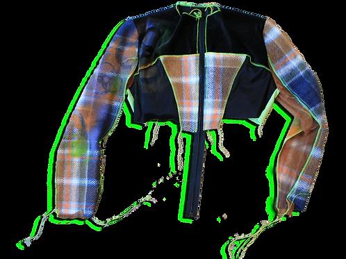 holey tights jacket
