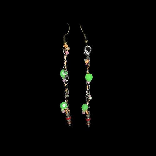 Racer Treasure Earrings