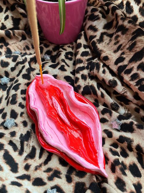 vagina incense holder