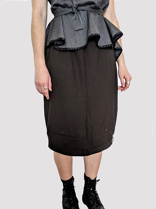 'suited' skirt