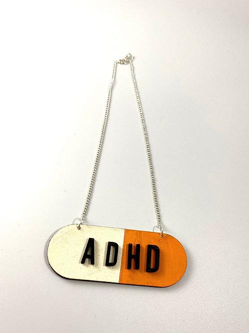 ADHD pill necklace