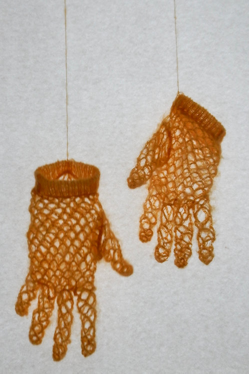 'the holy touch' mini gloves