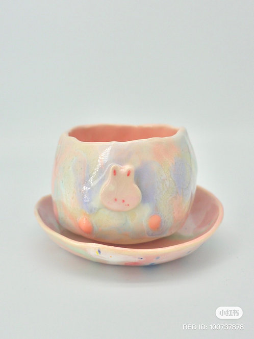 Bunny Cup and Saucer