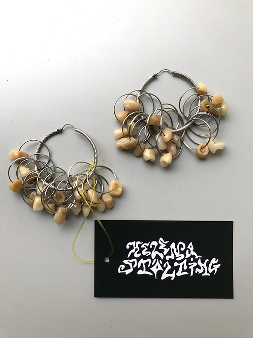 teeth & rings hoops