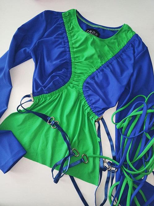 """green/blue""""big black top"""""""