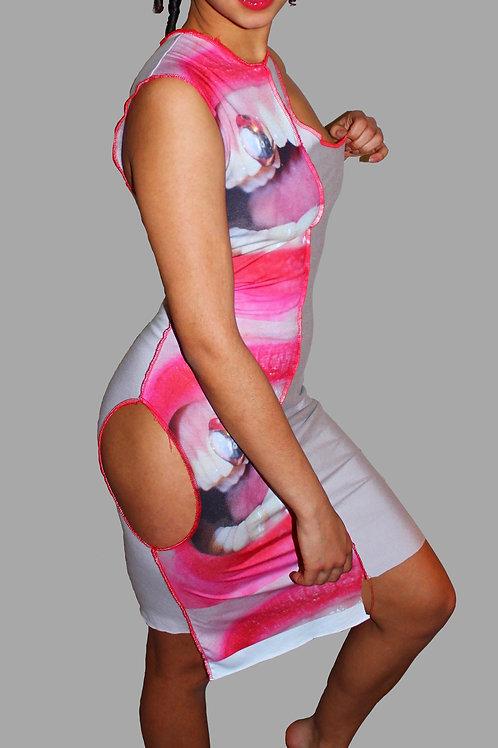 amylase a-symmetrical dress