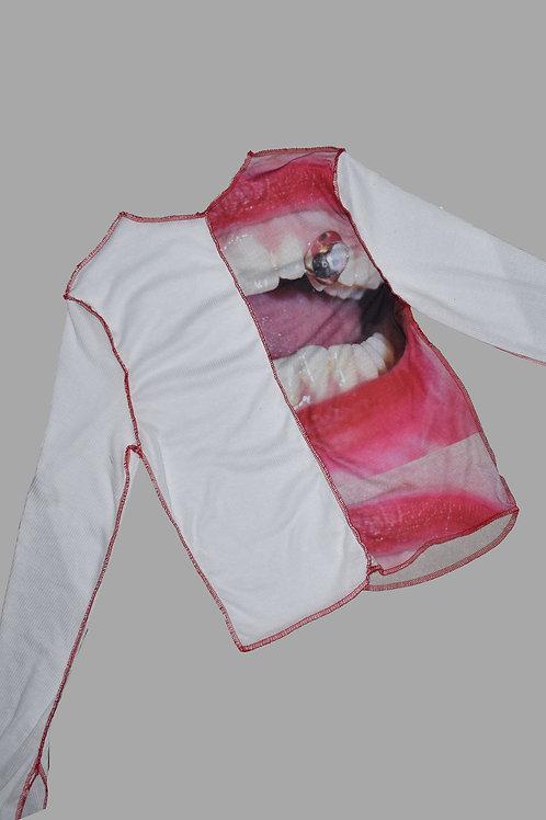 amylase long sleeve top