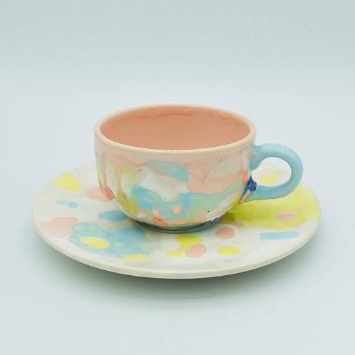colour palette cup set