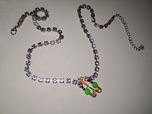 Toxix-Gem Choker Necklace